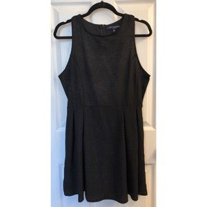 Black Glittery Cocktail Dress